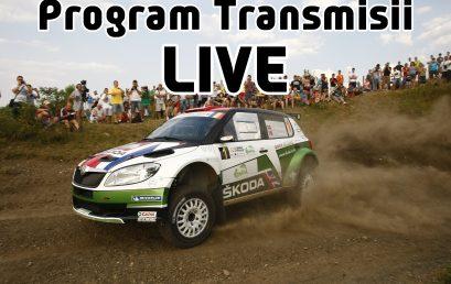 Programul transmisiilor LIVE la Raliul Sibiului 2020