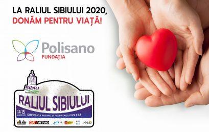 La Raliul Sibiului 2020, donăm pentru viaţă!